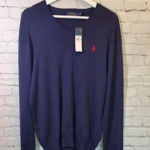 Polo Ralph Lauren V Neck Sweater